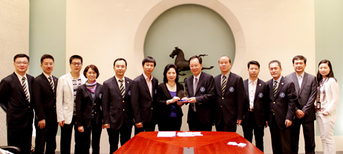 香港中联办_香港中联办唐淑兰副部长接待本会拜访团