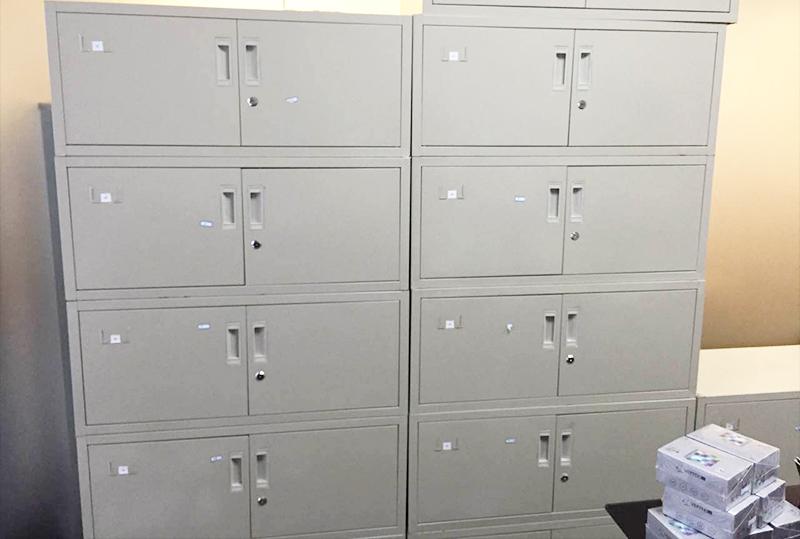 铁皮员工文件柜、储物柜