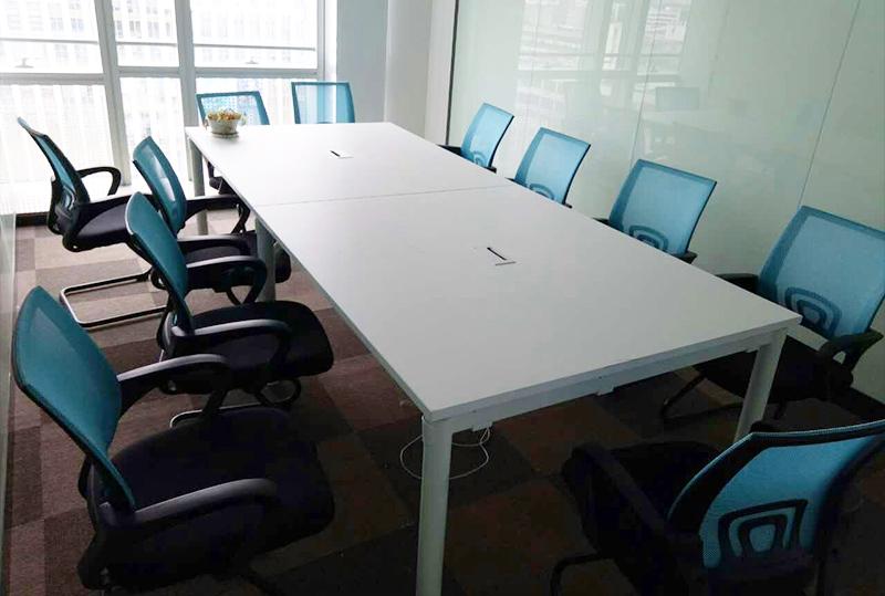 2.8米洁长方形办公会议桌