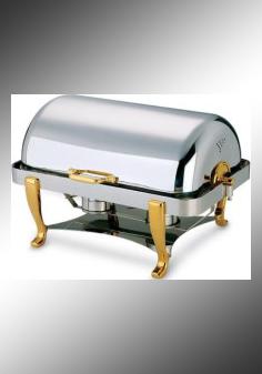 全翻盖镀金单格自助餐炉