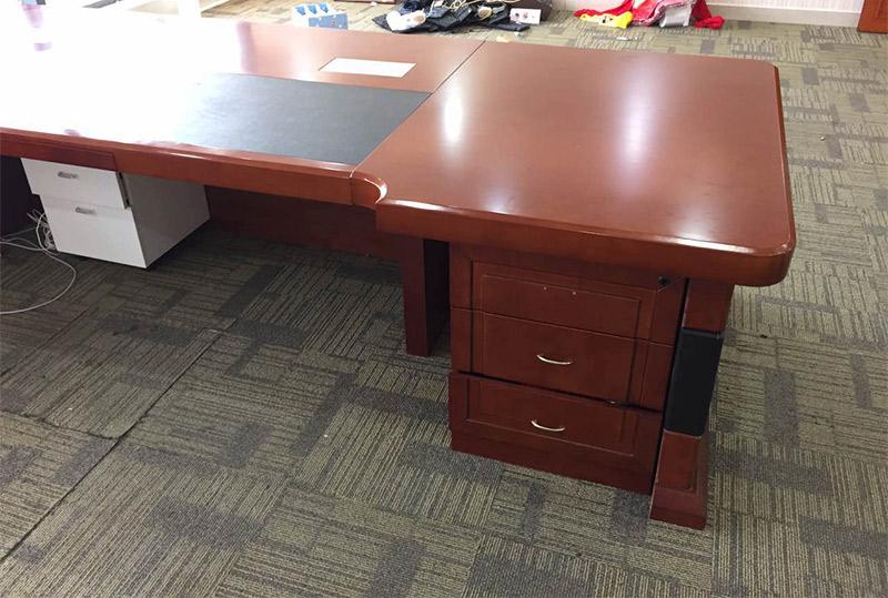 3.6米*1.2米实木高档大气老板桌、大班台