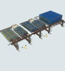 新能源电池立体仓库系统