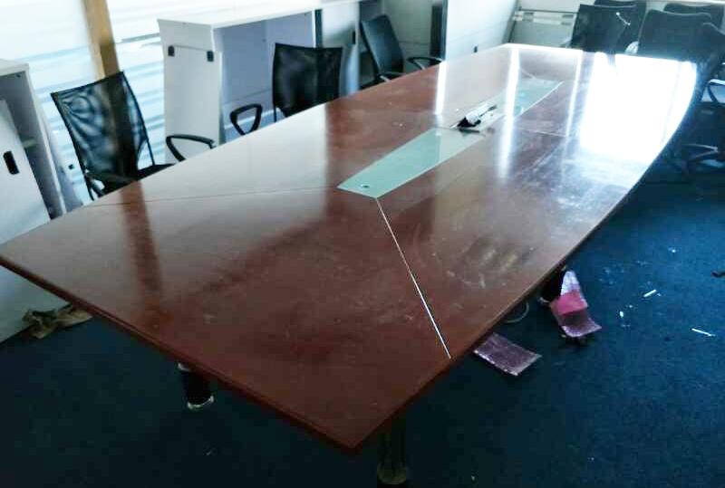 3.5米*1.45米长方形实木办公会议桌