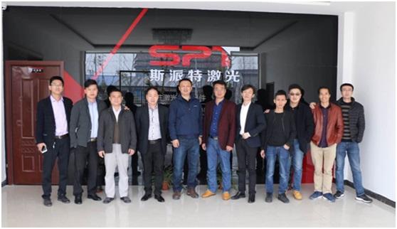 记三月广东激光企业一行的华东之旅