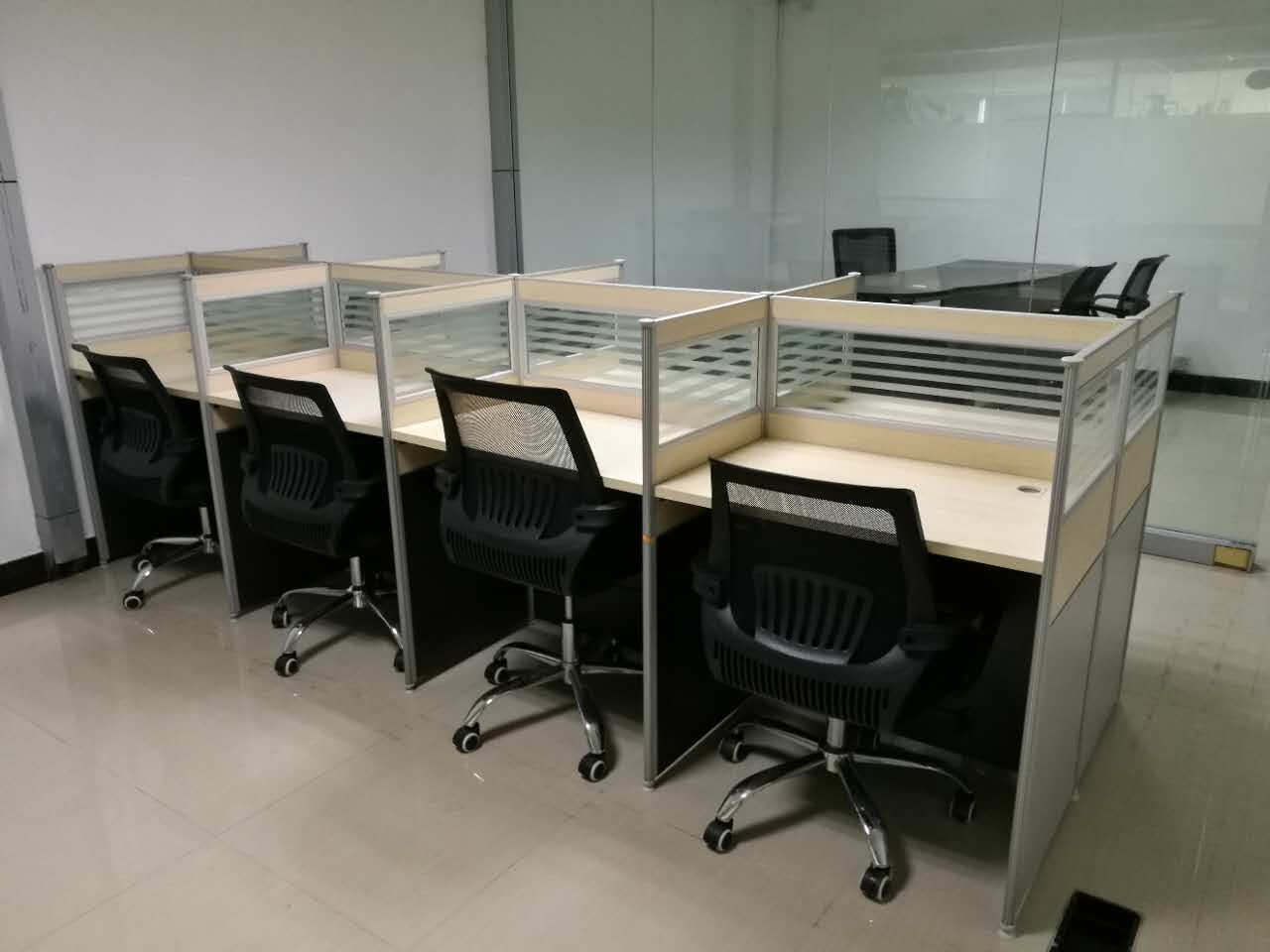 合步二手办公桌销售安装服务案例——朱先生