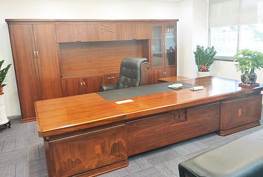 9开门豪华全实木办公文件柜、储物柜