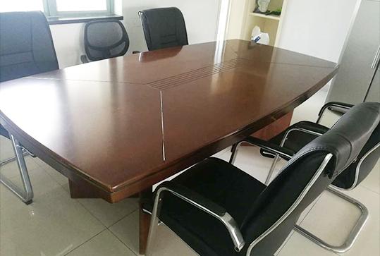 2.4米*1.1米实木办公会议桌