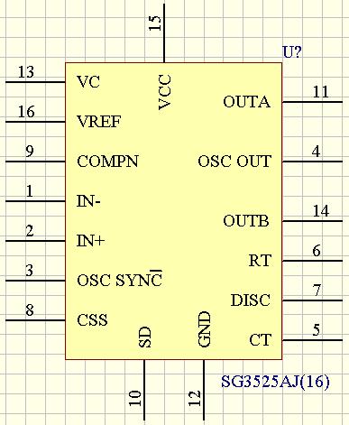 cw494内部电路框图