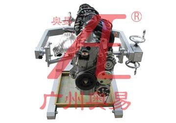 【产品简介】本实训台以()发动机总成为基础,配置十字轴式拆装架