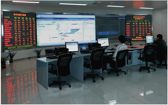 郑州热力总公司热网监控系统