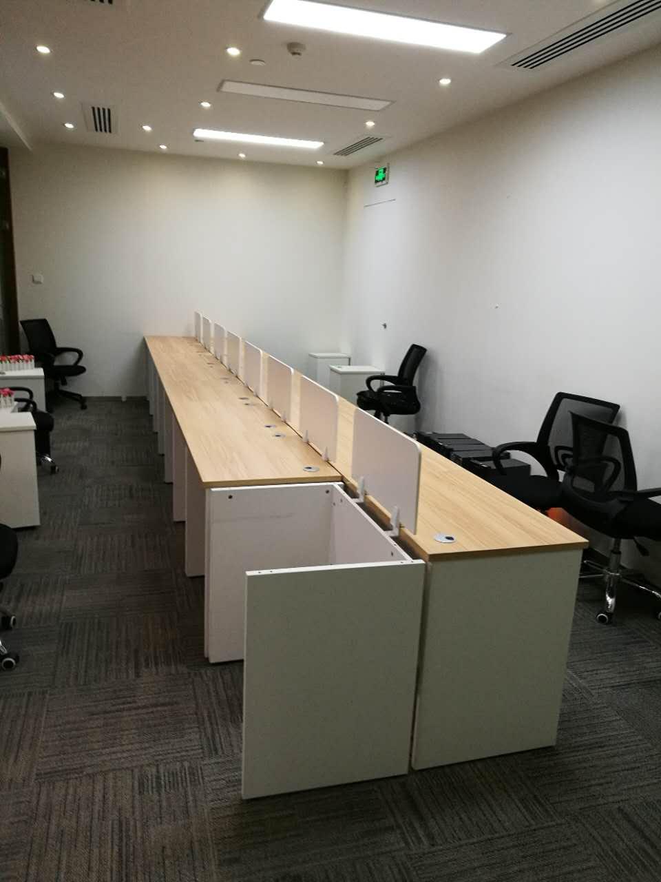 合步二手办公桌销售安装服务案例——潘小姐