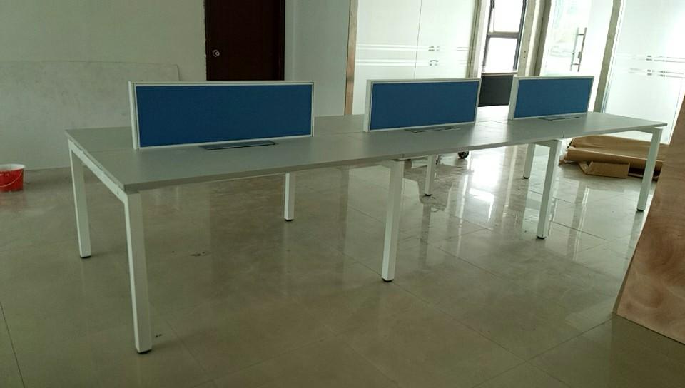 合步二手办公桌销售安装服务案例——贺先生