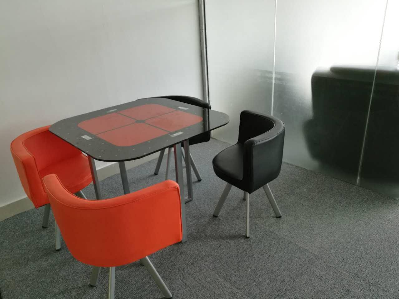 合步二手办公桌销售安装服务案例——傅先生
