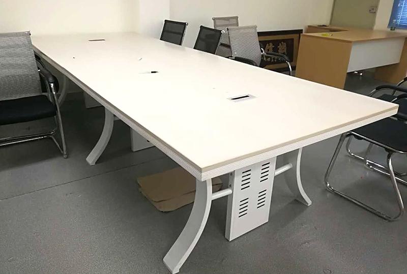 3.6米*1.4米白色现代时尚会议桌
