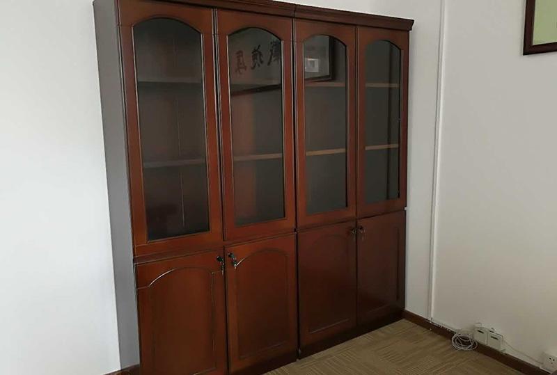 95成新木柜、办公书柜、储物柜