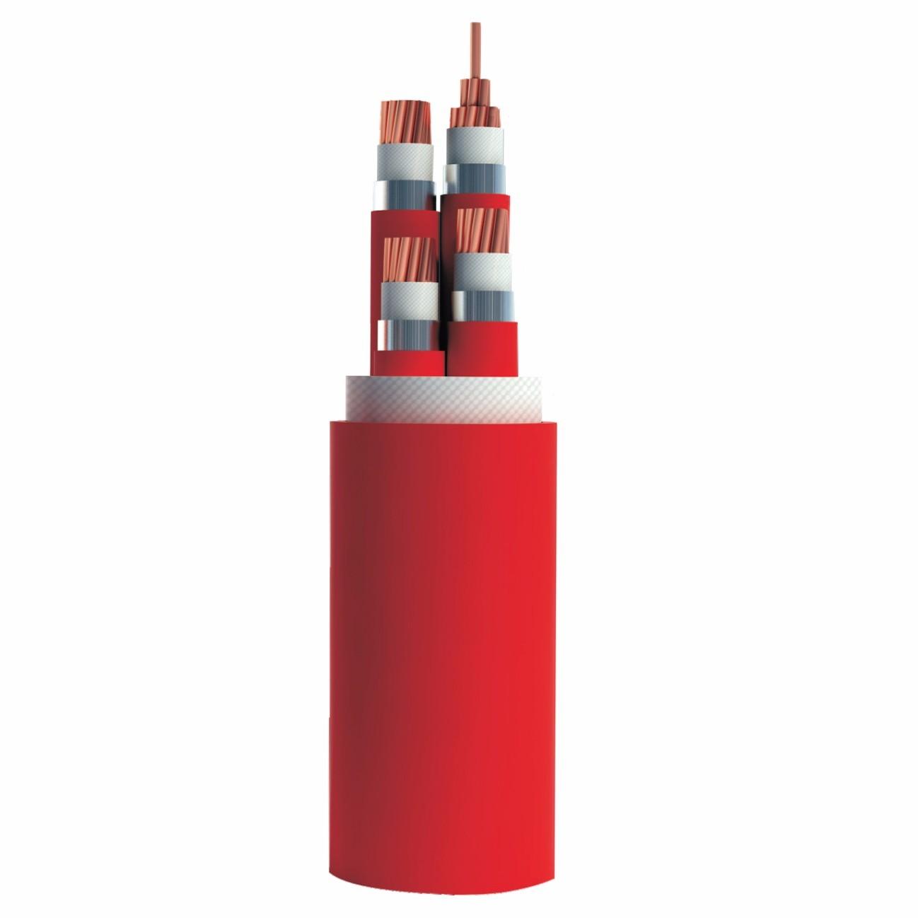 柔性隔离型铝护套矿物绝缘电缆NG-A (BTLY)