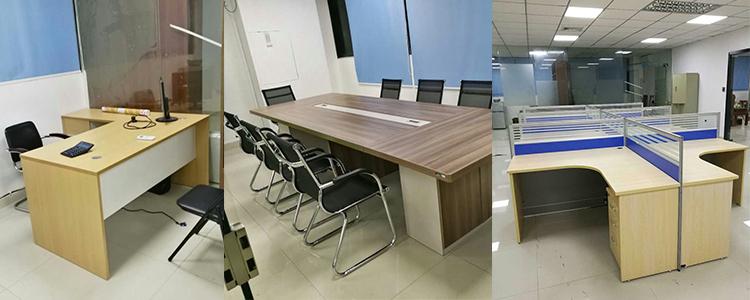 合步二手会议桌安装服务案例——信息咨询类公司唐总