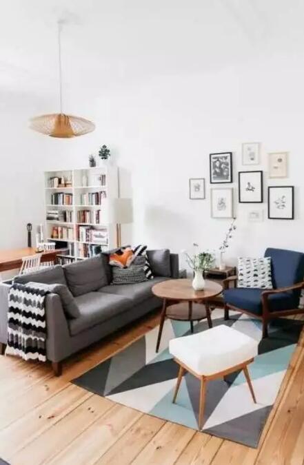 書房可以不要,但這樣的客廳我要定了!
