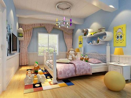 7        平方儿童房装修效果图二