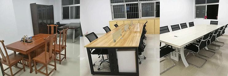 合步二手会议桌安装服务案例——电子科技类公司景总