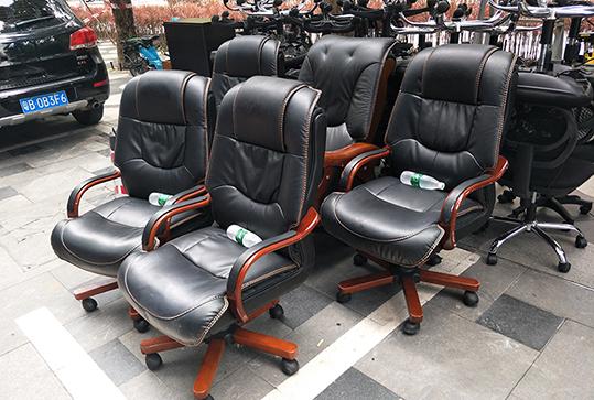 皮质老板座椅、大班座椅