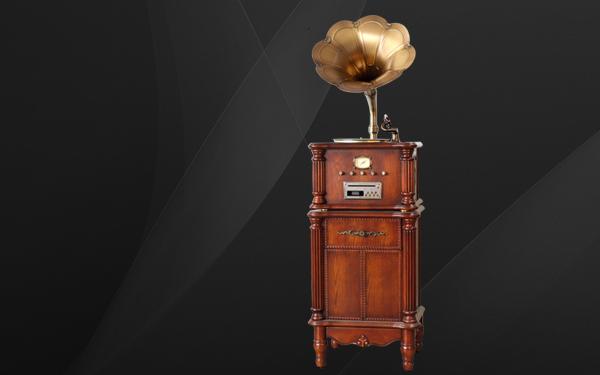 黑胶电唱机