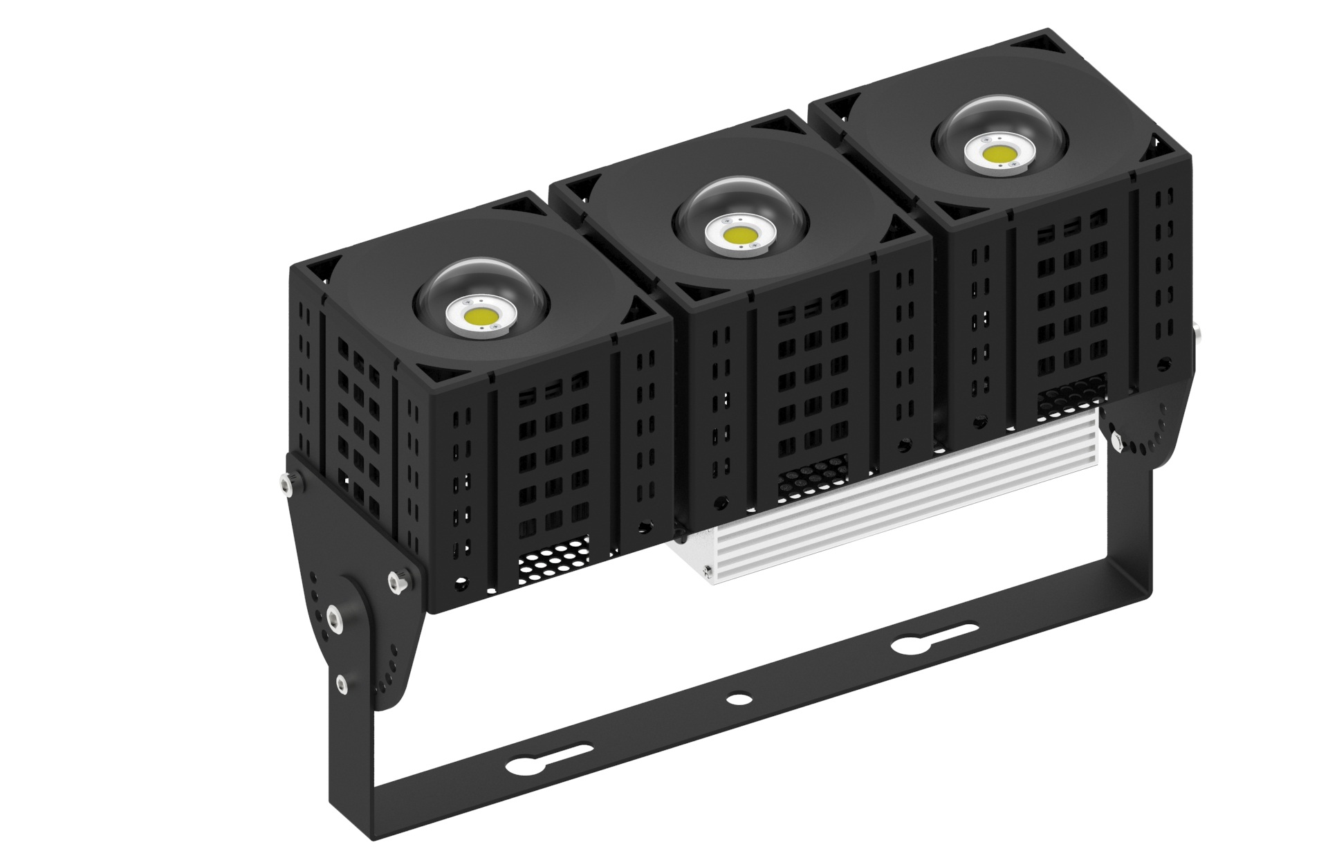 led module flood light 1x3