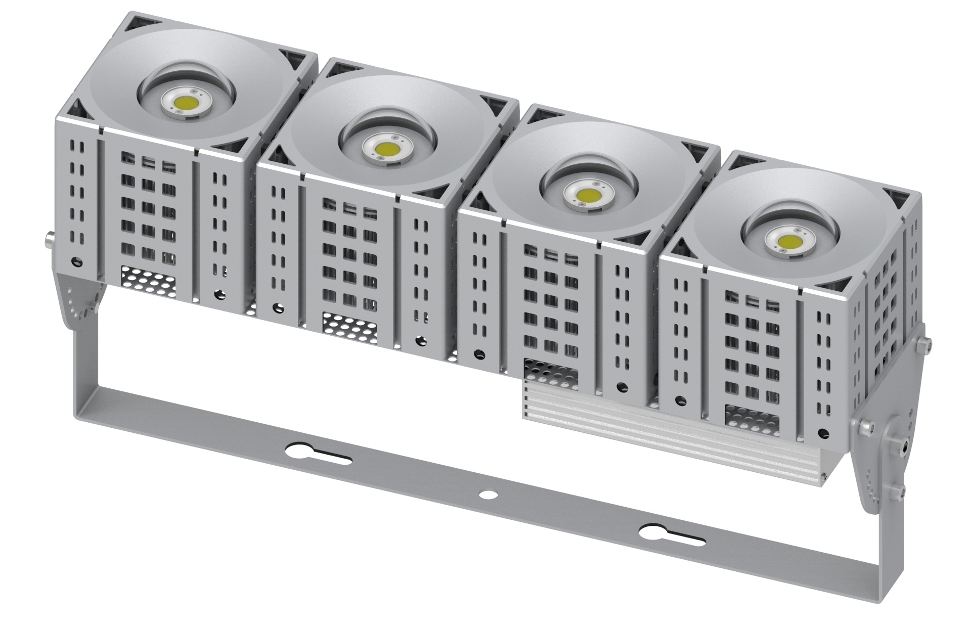 led module flood light 1x4