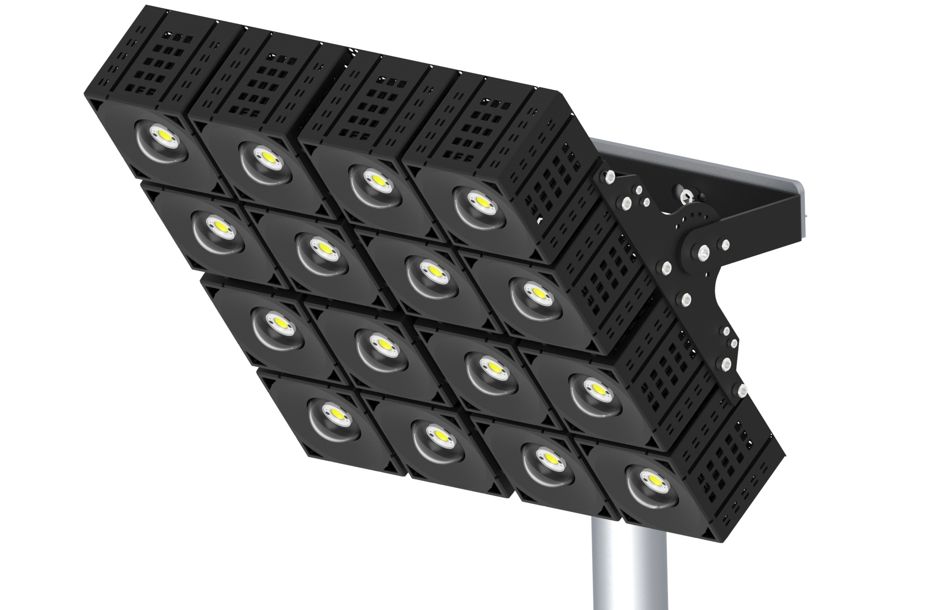 led module flood light 4x4