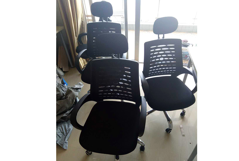 靠背透气人体工学办公转椅