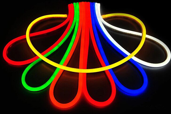 DIP led neon flex light - round type Φ25mm