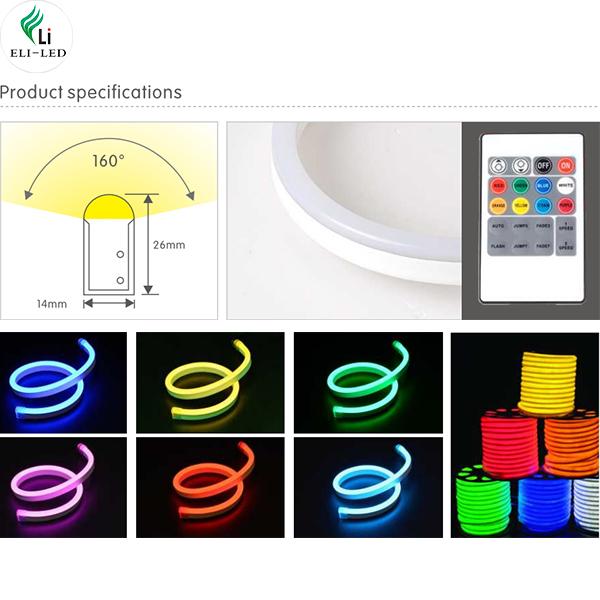SMD led neon flex light - 14X26mm