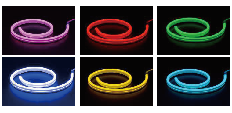 ultra thin led neon flex light 11X19mm