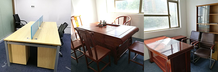合步二手会议桌安装服务案例——电商类公司叶总