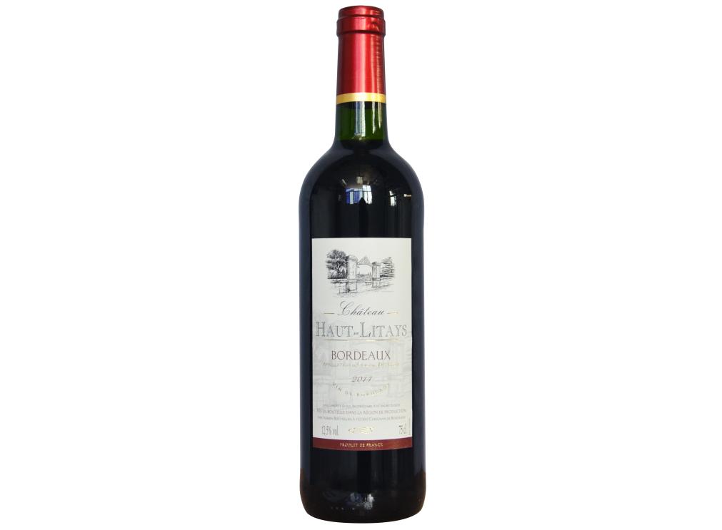 奥丽黛城堡红葡萄酒 CHÂTEAU HAUT LITAYS BORDEAUX