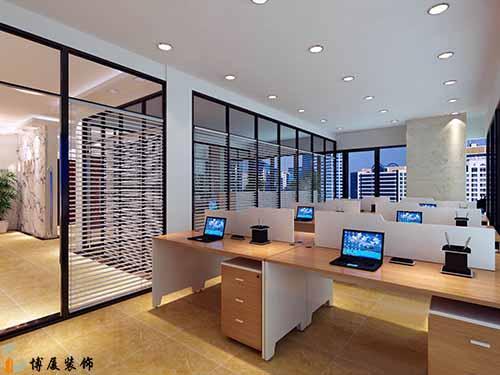 办公室装修效果图在观察期间应注意哪些问题?