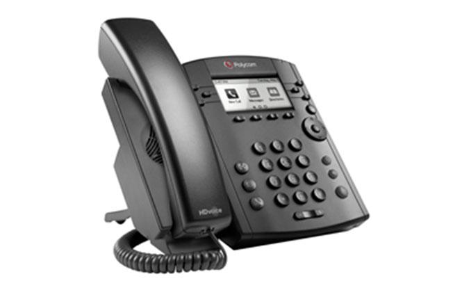 Polycom VVX 300/310(以太网交换机)商务多媒体电话