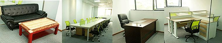 合步二手会议桌安装服务案例——信息咨询类公司伍总