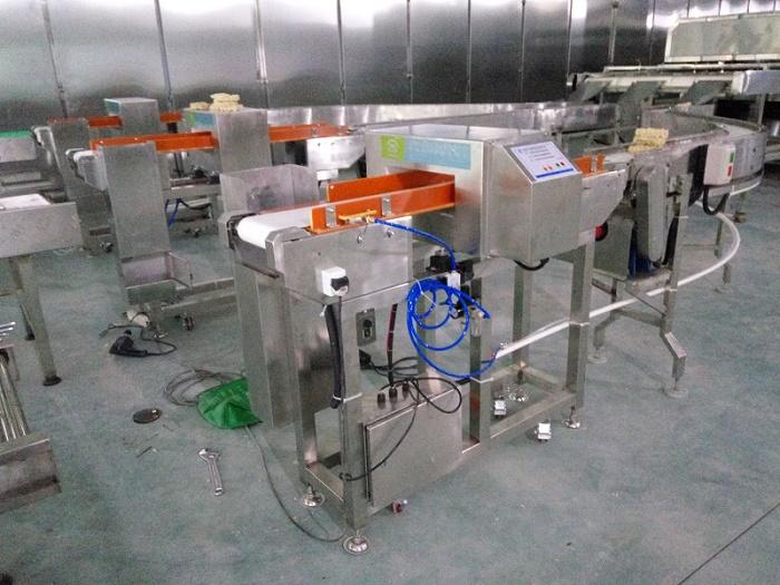 广东福盛行采购我司五台定制型金属检测仪