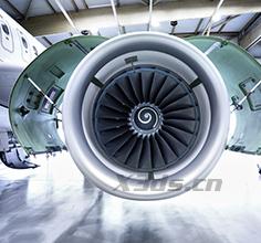 飞机发动机进气孔腔壁三维扫描