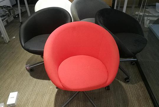 圆形靠背休闲座椅