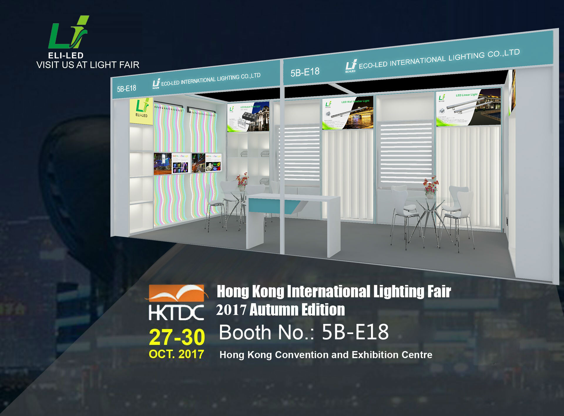 Come and Meet Us at Our Booth 5B-E18