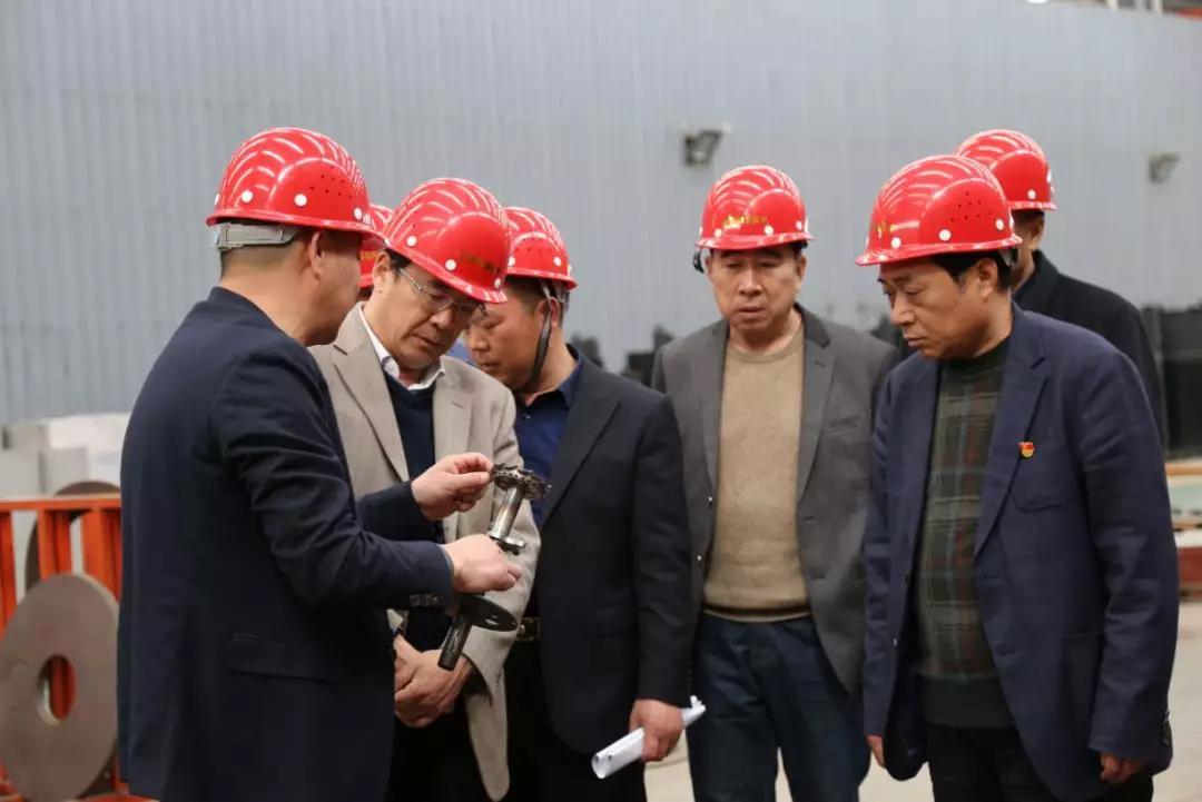 省工信厅翟贵平到我集团公司调研科技创新工作