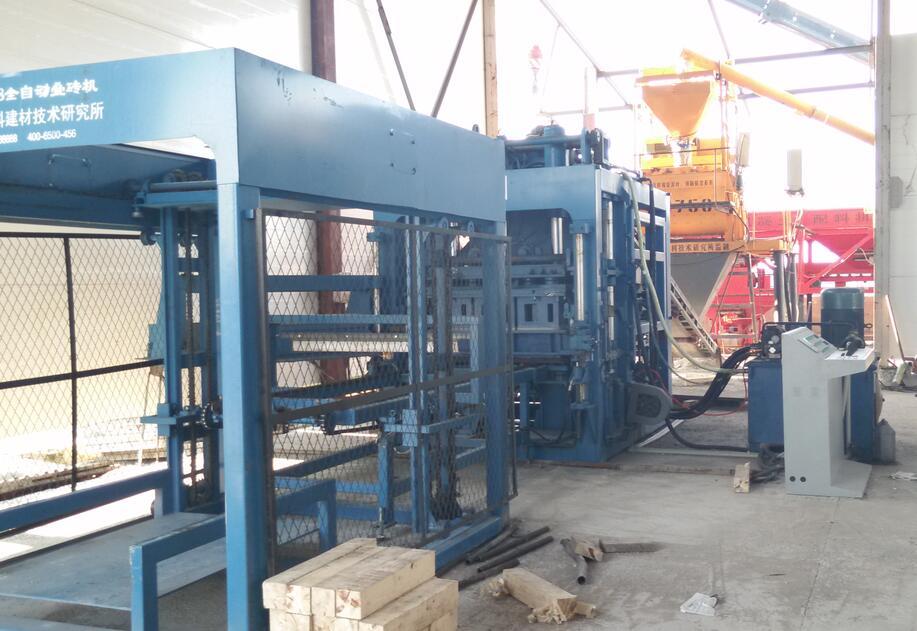 QTY10-15液压全自动砖机