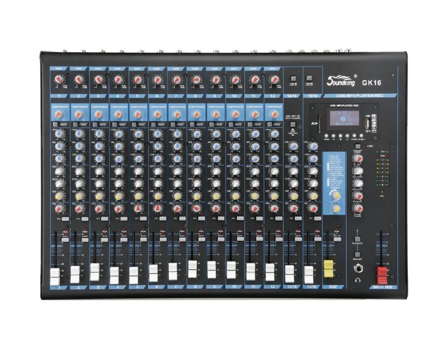 多功能录音调音台 GK12/GK16