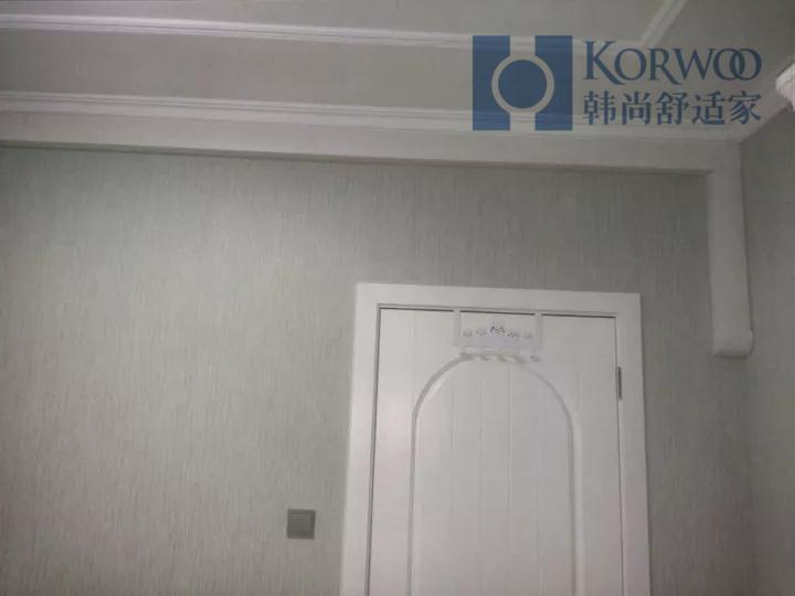 韩尚舒适家明装采暖施工流程