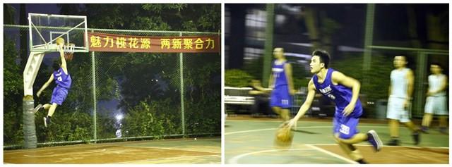 """西乡街道""""两新""""组织党员第一届""""桃花源杯""""篮球赛,英迈思再下一城!"""