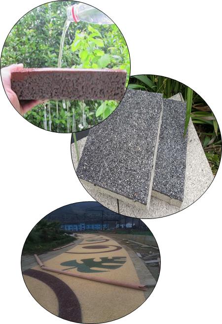聚氨酯透水砖