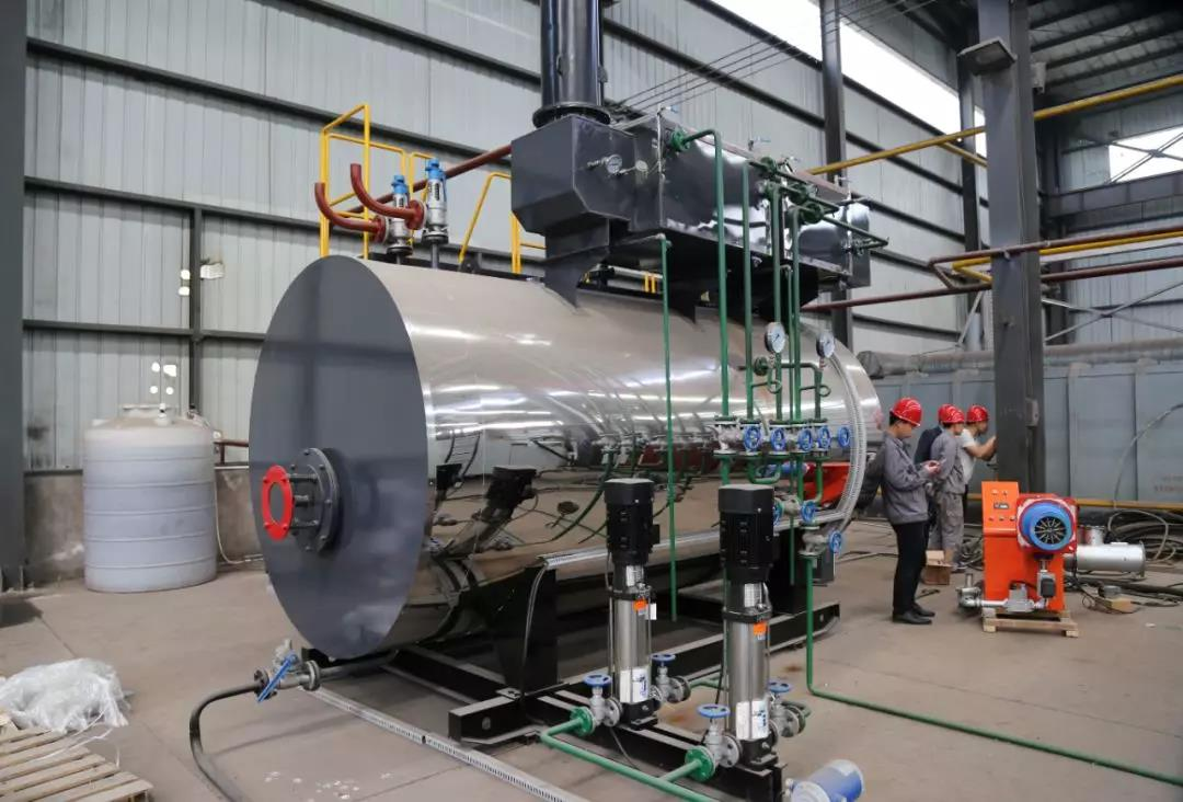 德尔盛热能科技冷凝蒸汽锅炉