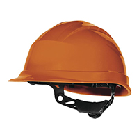 代尔塔 102008 抗紫外线石英3型高密度聚丙烯(PP)安全帽 QUARTZ UP III